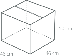 Large box product dimensions